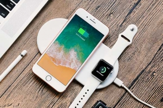 Chargeur sans Fil Funxim iPhone Apple Watch