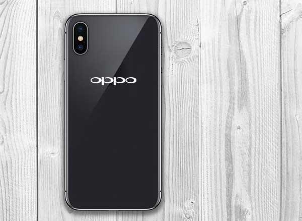 Oppo R13 Clone iPhone X Copie