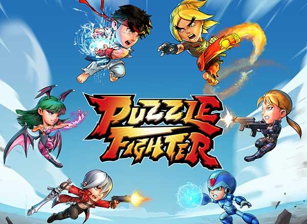 Jeu Puzzle Fighter iPhone iPad