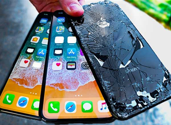 stress test crash resistance iphone x video