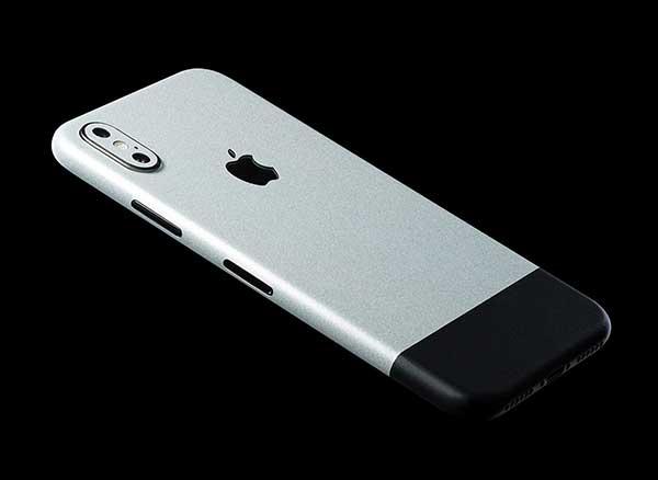 premium selection 590a0 26d48 Cet Autocollant Transforme les iPhone X en iPhone EDGE (video ...