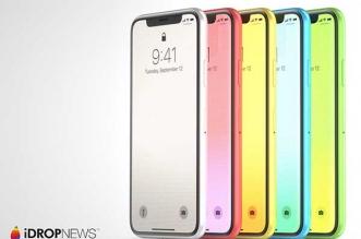 concept iphone xc plastique couleurs idropnews