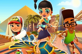 Jeu Subway Surfers iPhone iPad