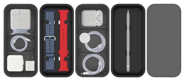 bento stack boites accessoires apple iphone 2 - Cette Petite Boite Peut Ranger tous vos Accessoires Apple (video)