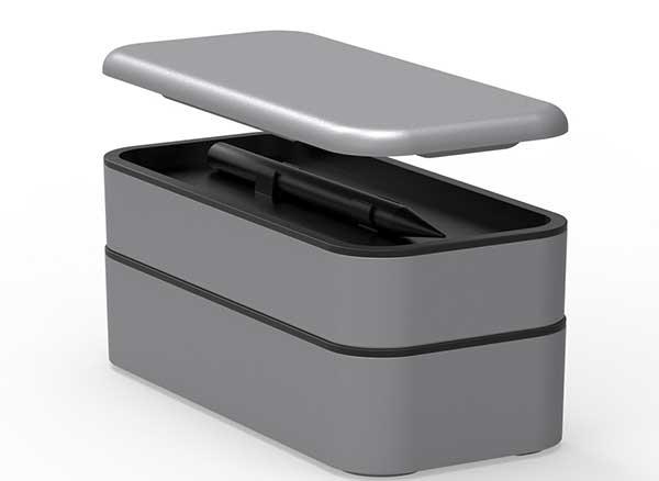 bento stack boites accessoires apple iphone 4 - Cette Petite Boite Peut Ranger tous vos Accessoires Apple (video)
