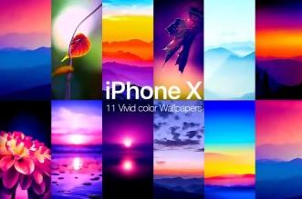 Fonds Ecrans HDR iPhone X