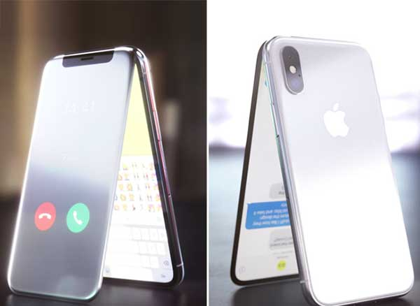 iphone x clapet concept curved labs