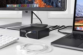 UD-CAM USB-C Plugable Hub MacBook