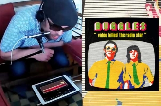 Garage Band iPad Video Kill the Radio Star