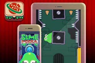 Jeu Slime Pizza iPhone iPad