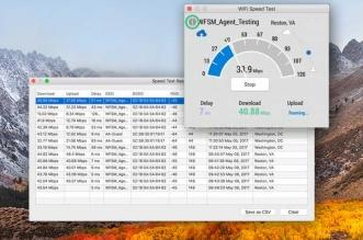 WiFi Speed Test Mac