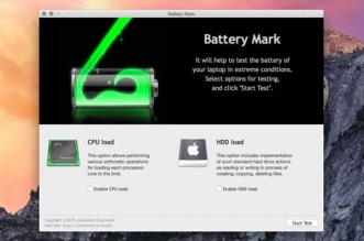 Battery Mark Mac