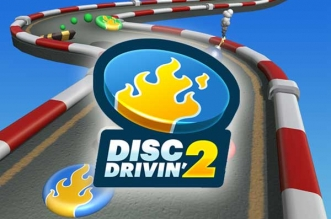Jeu Disc Drivin 2 iPhone iPad
