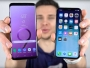 Comparatif Vitesse Galaxy S9 Plus vs iPhone X