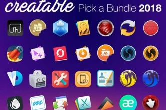 creatable bundle mac logiciels pack
