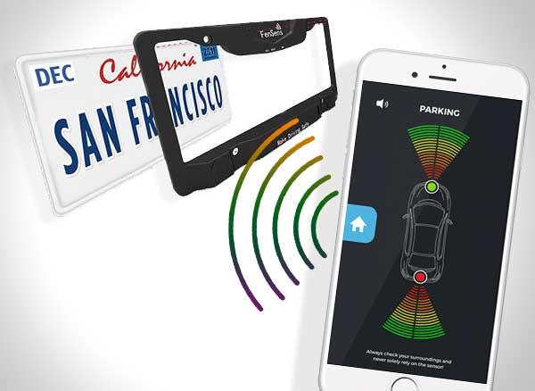 fensens aide stationnement support connecte iphone 3 - Devenez un Pro du Créneau avec cet Accessoire et l'iPhone (video)