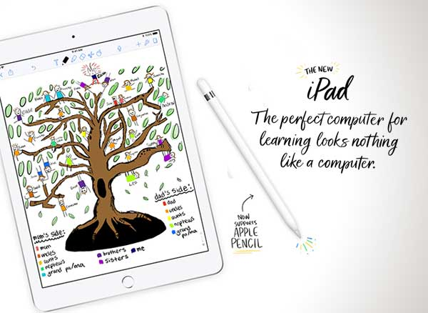 ipad pro 6 prix stylet apple pencil compatible