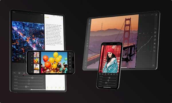 darkroom photo editor iphone ipad 5 - Darkroom, Enfin la Retouche Photo HD pour iPad Pro (gratuit)