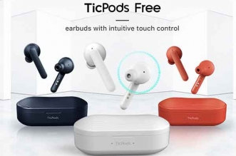 ecouteurs bluetooth ticpods free tactile airpods