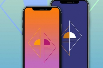 fods écran minimalistes iphone