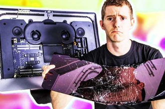 linus tech tips imac pro reparation apple