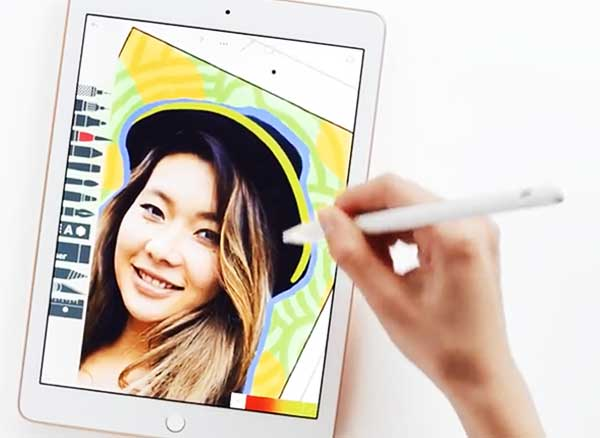 Pub Video Apple Pencil Stylet iPad 2018