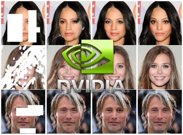 Retouche Photo Intelligence Artificielle NVIDIA
