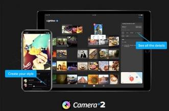 Camera + 2 iPhone iPad