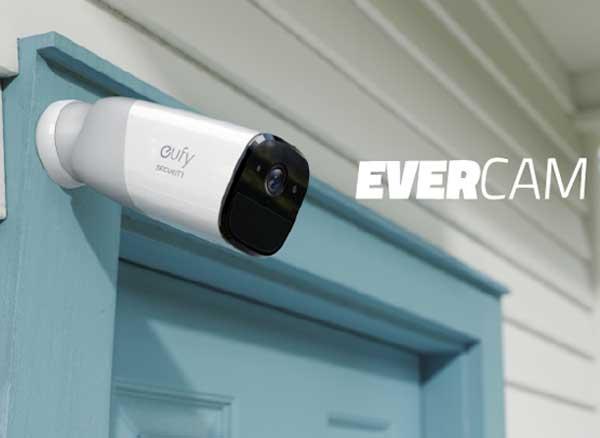 eufy security evercam camera surveillance autonome 1 - Un an d'Autonomie pour cette Camera de Surveillance Connectée (video)