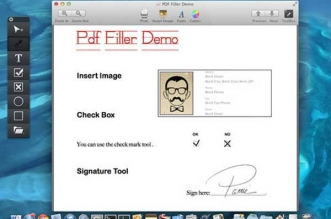PDF Form Filler Mac