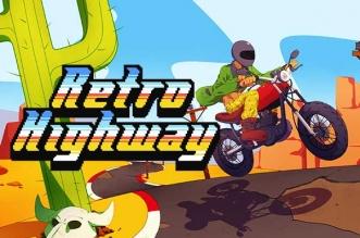 Jeu Retro Highway iPhone iPad