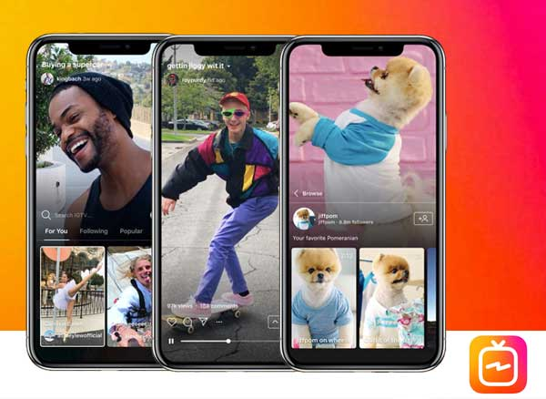 instagram igtv app video iphone gratuit 1 - Oubliez YouTube... Instagram Video IGTV est enfin Là (gratuit)