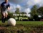 tutoriel photo iphone x coupe monde football pub