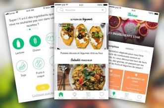 veggup recettes nutrition iphone ipad