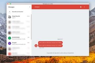 android messages client mac non officiel gratuit