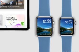 concept ipad pro montre apple watch series 4