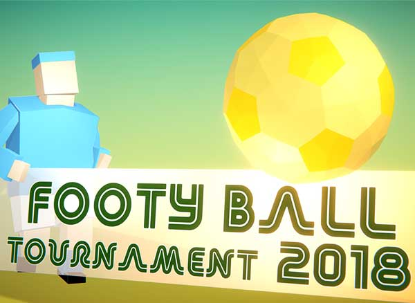 footy ball tournament 2018 iphone ipad jeu