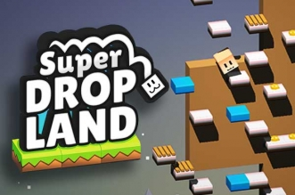 Jeu Super Drop Land iPhone iPad