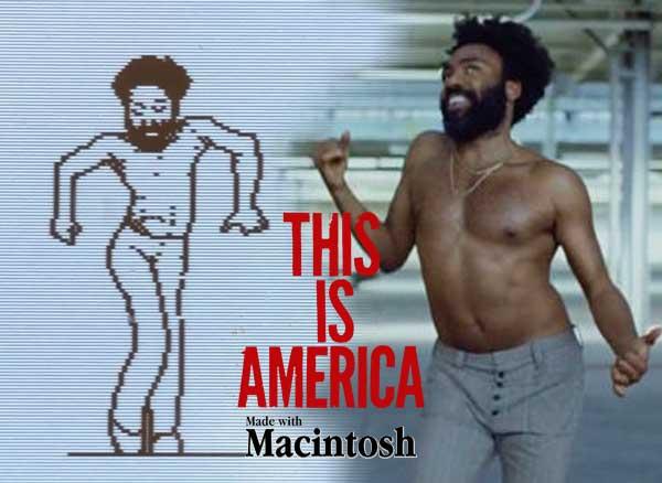 video clip this is america childish gambino macintosh