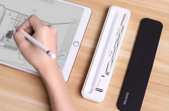 willgoo boite rangement chargeur stylet apple pencil