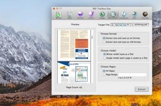 PDF Toolbox Star Mac