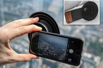 ultimate lens hood ventouse photo vitre iphone dslr