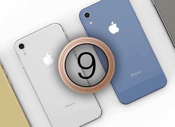 concept iphone 9 video fausse pub couleurs