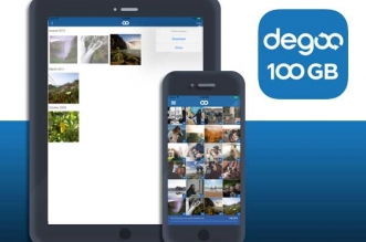 Degoo Backup iPhone iPad