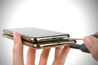 demontage ifixit changer batterie ecran iphone xs max