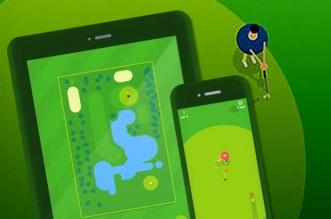 Jeu Golfing Around iPhone iPad