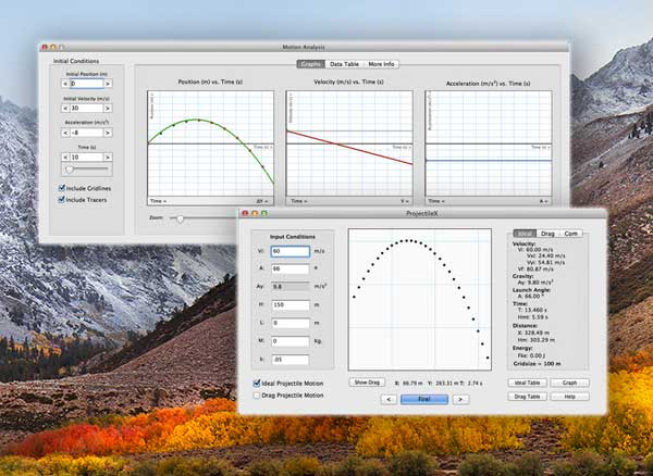 physics 101 se macos mac