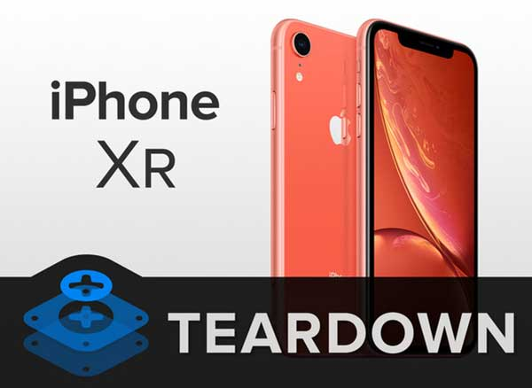 demontage iphone xr ifixit image video comment