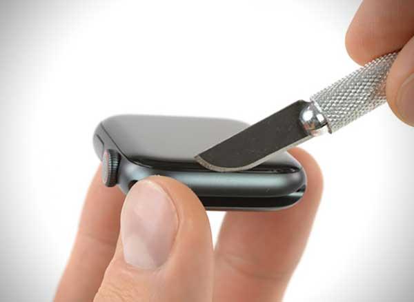 ifixit demontage montre apple watch serie 4