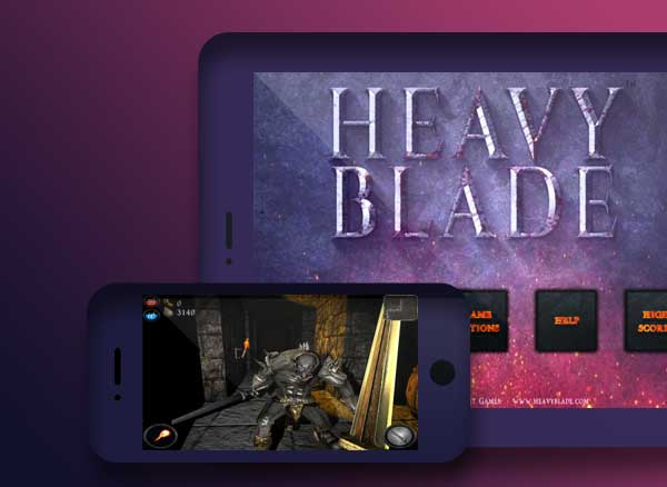 jeu heavy blade iphone ipad - Heavy Blade iPhone iPad - Flippant Jeu de Tir 3D FPS (gratuit)